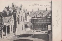 Mechelen Malines 1905 Cour Interieur Du Palais De Justice Paleis Van Margareta Van Oostenrijk  ZELDZAAM Zeer Goede Staat - Malines
