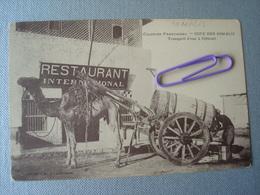 DJIBOUTI : Transport D'eau - Restaurant International ..... - Somalie