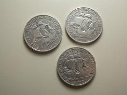 Portugal 3 Coins 10 Escudos 1932 Silver - Portugal