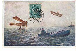CARTE POSTALE émise Par La CROIX ROUGE AUTRICHIENNE - Guerre 39 / 45 - Oblitération Illisible / N° 624 - - Croix-Rouge