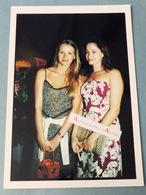 Marie GILLAIN Actrice Belge & Sarah LAVOINE Photo De Presse 2001 Cinéma Gamma Belgique - Riproduzioni