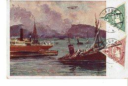 CARTE POSTALE émise Par La CROIX ROUGE AUTRICHIENNE - Guerre 39 / 45 - Oblitération Illisible- N° 585 - - Croix-Rouge