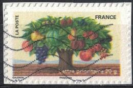 France 2011 Oblitéré Used Fête Du Timbre 9 Arbre Aux Différents Fruits Y&T 530 SU - Usados