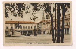 Novara: Piazza Vittorio Emanuele II - - Novara