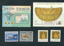 HUNGARY, 2000 LOT OF STAMPS MNH/PHILATELY/PHILATELIC EVENTS - Filatelia & Monedas