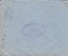 Argentina EMILIO M. ZANNI Representaciones, TMS Cds. ROSARIO 1926 Cover Letra HAMBURG Alemania Germany - Argentinien