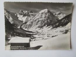 Brand B.Bludenz Mit Scesaplana. Risch Bregenz W11448 Postmarked 1957 - Bludenz