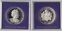 Isle Of Man 2018 UNC 1 Crown Queen Elizabeth II Coronation 1953-2018 - Monedas