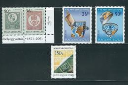 HUNGARY, 2001 LOT OF STAMPS MNH/PHILATELY/PHILATELIC EVENTS - Filatelia & Monedas