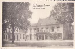 Tongeren Tongres Vrijthof En Postgebouw Place D'Armes Et Poste - Tongeren