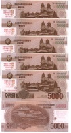 Korea North - 5 Pcs X 5000 Won 2017 UNC SPECIMEN 0000000 Comm. Lemberg-Zp - Corée Du Nord