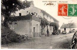 Allier : Chatel-Montagne : Villa Thevenet - France