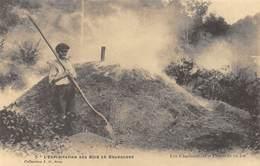 L'Exploitation Des Bois En Bourgogne - Les Charbonniers - Fourneau En Feu - Cecodi N'1106 - Frankreich