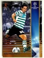 Joao Moutinho (Portugal) Team Sporting (Portugal) - Official Trading Card Champions League 2008-2009, Panini Italy - Singles