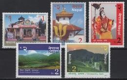 Nepal (2017) - Set -  /  Tourism - Landscapes - Dress - Architecture - Nature - Lake - Vakantie & Toerisme