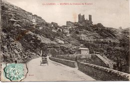 Lozère : Ruines Du Chateaudu Tournel - Altri Comuni