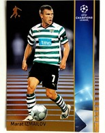 Marat Izmailov (Rossia) Team Sporting (Portugal) - Official Trading Card Champions League 2008-2009, Panini Italy - Singles (Simples)