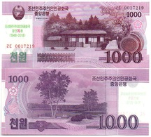 Korea North - 1000 Won 2018 UNC Comm. Lemberg-Zp - Corée Du Nord