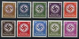 43345) LOKALAUSGABEN Friedersdorf Behörden Dienstmarken Postfrisch SIGNIERT Aus 1945 - Zone Soviétique