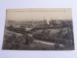 Le Creusot Depot De Charbon Et Chaudronnerie Cpa Dos Vert - Le Creusot