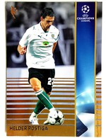 Helder Postiga (Portugal) Team Sporting (Portugal) - Official Trading Card Champions League 2008-2009, Panini Italy - Singles
