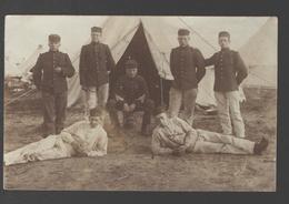 Legerplaats Harskamp - Carte Photo Originale / Originele Fotokaart / Original Photo Card - 1909 - Caserme