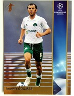 Ioannis Goumas (Greece) Team Panathinaikos (GRE) - Official Trading Card Champions League 2008-2009, Panini Italy - Singles