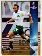 Dimitrios Salpingidis (Greece) Team Panathinaikos (GRE) - Official Trading Card Champions League 2008-2009, Panini Italy - Singles (Simples)