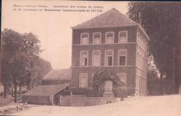 Mamgombroux Heusy Carrefour Des Routes De Jalhay Et De Jehanster Et Monument Commémoratif De 1914-1918 - Jalhay