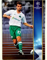 Andreas Ivanschitz (Austria) Team Panathinaikos (GRE) - Official Trading Card Champions League 2008-2009, Panini Italy - Singles