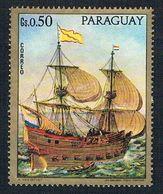 Paraguay 1431 MLH Sailing Ships 1972 (BP3101) - Paraguay