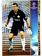 Mario Galinovic (Croatia) Team Panathinaikos (GRE) - Official Trading Card Champions League 2008-2009, Panini Italy - Singles