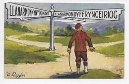 """Welsh Rarebits - """"A Puzzler"""" - Tuck Oilette 9340 - Pays De Galles"""