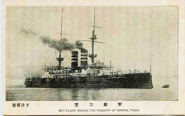 10936  - Japon / Russie - BATTLESHIP MIKASA  , THE FLAGSHIP OF ADMIRAL TOGO   - Guerre Russo Japonaise - Japan