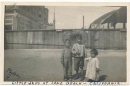 LONG BEACH, CA - Carte Photo - Little Japs - Long Beach