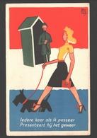 Iedere Keer Als Ik Passeer Presenteert Hij Het Geweer - 1939 - Humoristiques