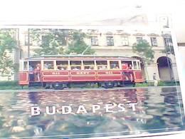 UNGHERIA Hungary BUDAPEST  TRAM N2018 HB8427 - Ungheria