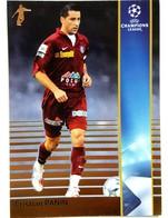 Cristian Panin (Romania) Team CFR Cluj (ROU) - Official Trading Card Champions League 2008-2009, Panini Italy - Singles (Simples)