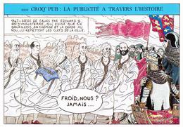 PRUDHOMME David Lauréat Festival Angoulème En 1985 - Bourgeois Calais Humour Publicité - CPM  10.5x15 TBE 1989  Neuve - Künstlerkarten