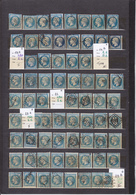 LES CLASSIQUES/ UN LOT DE 99 TIMBRES OBLITéRéS/ NAPOLéON III/ CéRèS/ POUR GROSSISTE AU 1 1/10° DE LA COTE Y ET T 2015 - France