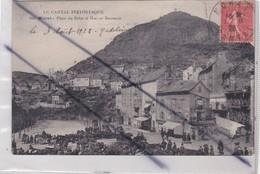 Murat (15) Place Du Balat Et Rocher Bonnevie ( Le Cantal Pittoresque) - Murat