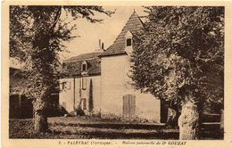 -24-LE BUISSON DE CADOIN - PALEYRAC - 1947- Maison Paternelle Du Dr GOUZAT - France
