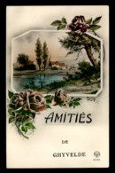 59 - GHYVELDE - AMITIES - CARTE ILLUSTREE - Autres Communes