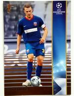Sorin Ghionea (Romania) Team Steaua (ROU) - Official Trading Card Champions League 2008-2009, Panini Italy - Singles