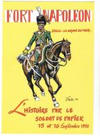 PRESTA J - Bande Dessinée 4ème Salon Papier De Collection Fort Napoléon La Seyne Sur Mer - CPM  10.5x15 TBE 1990  Neuve - Illustrators & Photographers