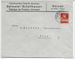 51 - 41 - Enveloppe Envoyée De Gossau 1926 - Lettres & Documents