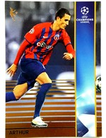 Arthur Bernhardt (Brasil) Team Steaua (ROU) - Official Trading Card Champions League 2008-2009, Panini Italy - Singles (Simples)