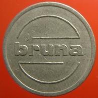 KB060-1 - BRUNA - Utrecht - WM 22.5mm - Koffie Machine Penning - Coffee Machine Token - Firma's