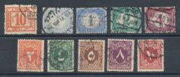 Egypte Lot De 10 Timbres-taxe - Égypte