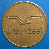 KB061-1 - BRUYNZEEL KONSUMPTIEPENNING - Zaandam - B 20.0mm - Koffie Machine Penning - Coffee Machine Token - Firma's